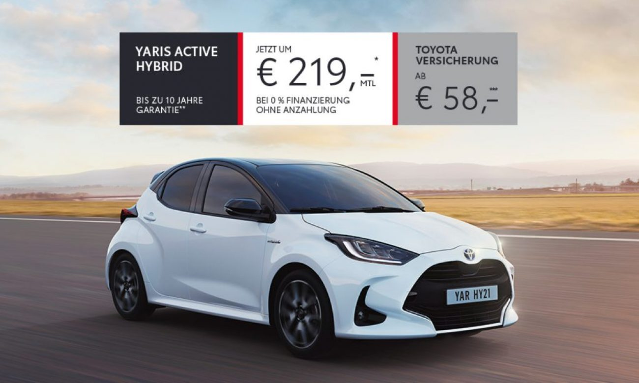 Toyota Yaris – Why Stop?