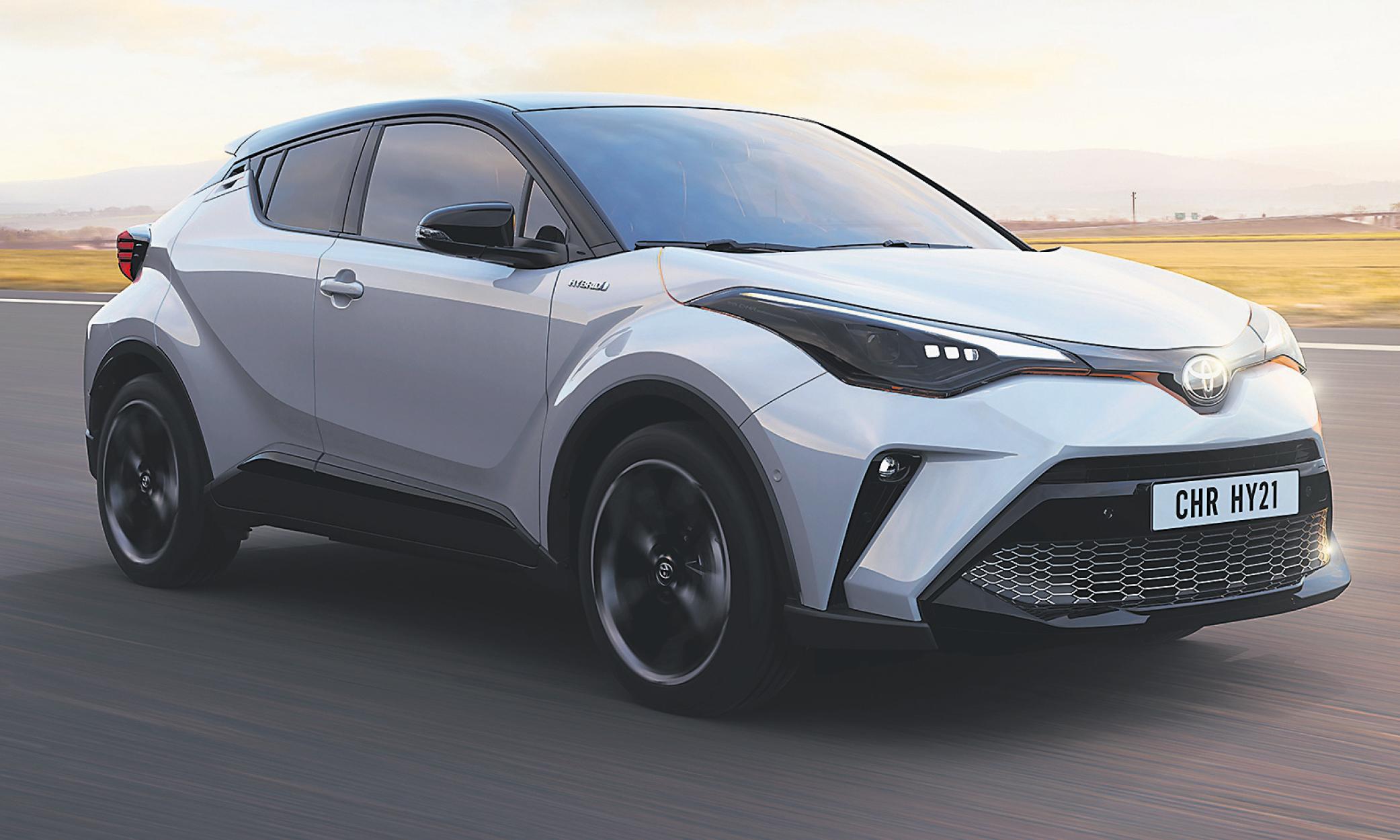 Toyota C-HR Hybrid jetzt um € 189,-* mtl.